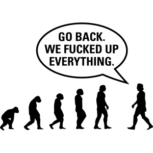Fucked up Evolution