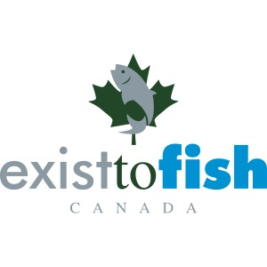 Exist To Fish Canada Color Logo
