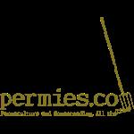 Permies Logo Tee Pitchfork.png