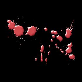 PAINT OR BLOOD SPLATTER