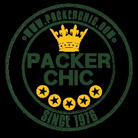 Packer Chic Retro Badge Green and Yellow