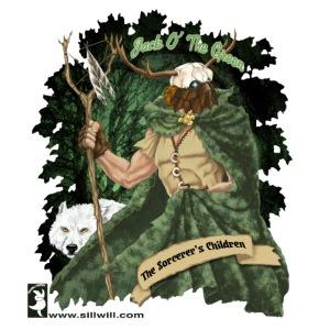 Jack O' The Green tshirts