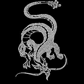 White Eastern Dragon