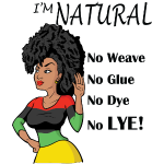 I'm Natural! No Weave