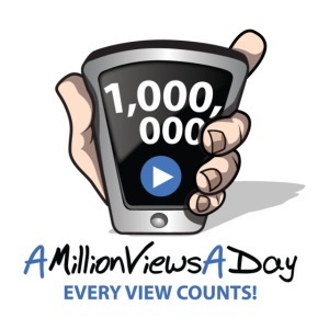 AMillionViewsADay - every view counts!