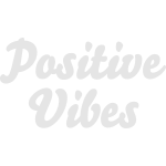 Positive Vibes vector