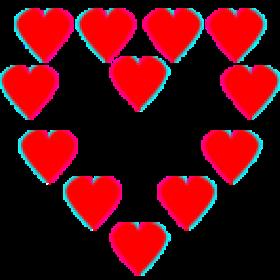 Pixelart Hearts
