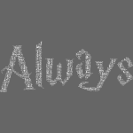 Always (white)