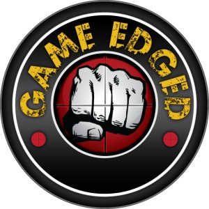 Men's Game Edged Logo Tshirt with So Be It On the