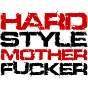 Hardstlye Mother F*cker (Black Txt)