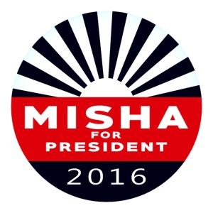 Misha 4 President Button