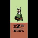 Nimbus and logo full color, vertical format
