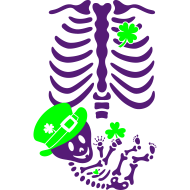 Design ~ St. Patrick's Skelly Baby