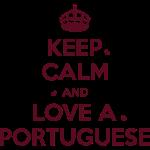Keep Calm Portuguese