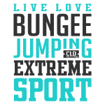 Bungee Jumping Extreme Sport T-shirt 2