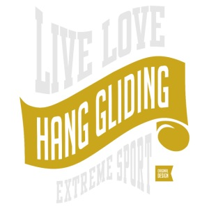 Hang Gliding Extreme Sport T-shirt