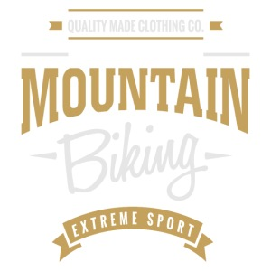 Mountain Biking Extreme Sport T-shirt