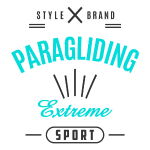 Paragliding Extreme Sport T-shirt 2