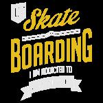 I Love Skateboarding Extreme Sport T-shirt