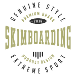 Skimboarding Extreme Sport T-shirt 2