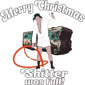 Cousin Eddie Shitter Was Full