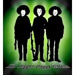 THK B_W Bandidos Silhouette Logo MNE_WteFce_Grn bk