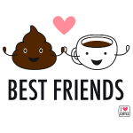 poop & coffee: bestfreind
