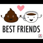 poop & coffee: bestfreind