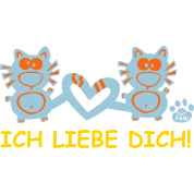 i love you ich liebe dich germany deutschland cats t shirt spreadshirt. Black Bedroom Furniture Sets. Home Design Ideas