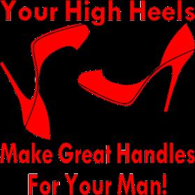 Your High Heels Make Great Handles