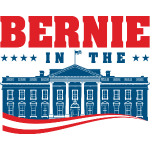 Bernie in the House! The White House.