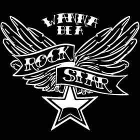 Wanna Be A Rockstar White