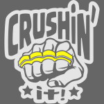 Crushin it Brass Knuckles