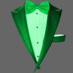 Realistic Green Tuxedo