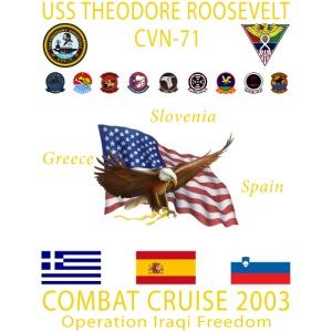 T ROOSEVELT 2003 CRUISE