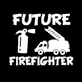 Future Firefighter baby boy shirt