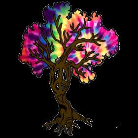 Hippie Peace Tree