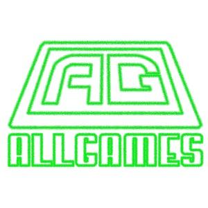 neon green AllGames Logo