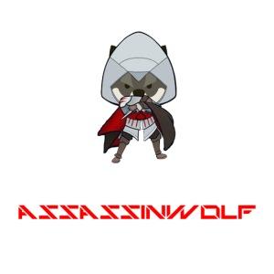 heather gray assassinwolf Tee
