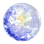 Blue Marble (West) Graphi