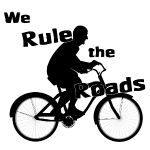 We Rule the Roads cyclist
