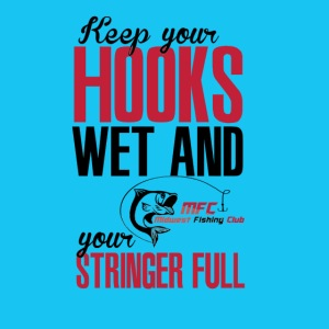 Hook Wet Black and Red