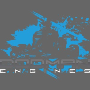 Dodman Engines design colour white png