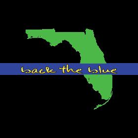 back the blue florida
