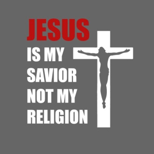 Jesus is my Savior Tee for men