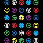HeroClix Symbols Color