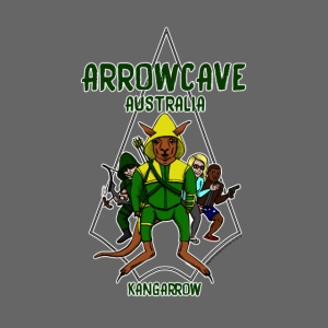 Arrow Cave Logo - Dark