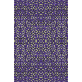 Stylized Floral Check