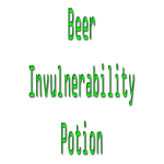 Beer invulnerability poti