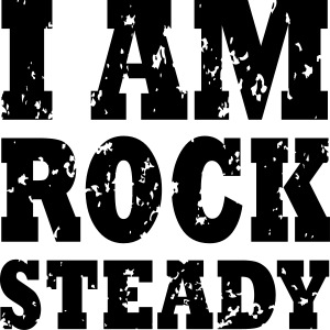 WPC I Am Rock Steady T sh
